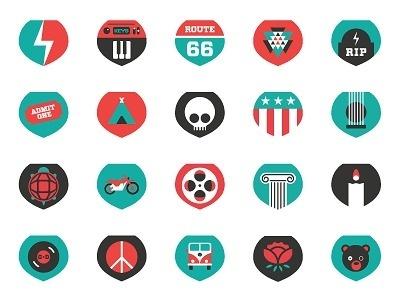 Grateful Dead Icons