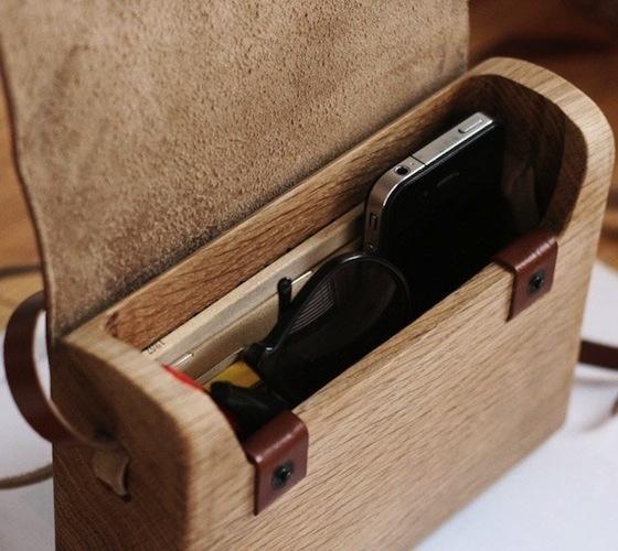 Oak Wood Bag by Haydanhuya #gadget
