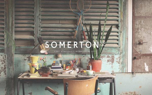 SOMERTON CO on Behance #branding #office #space #identity #workspace #logo