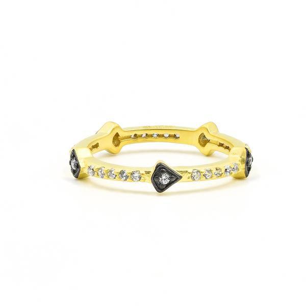 Arrow Station Ring – Freida Rothman   Price: $50.00   Product details @ https://bit.ly/2JauWrP. Buy now! #Rings #Jewelry #Fashion #FreidaRothman #NYC #NewYork #Brooklyn