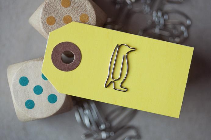 Penguin Paper Clips #tech #flow #gadget #gift #ideas #cool