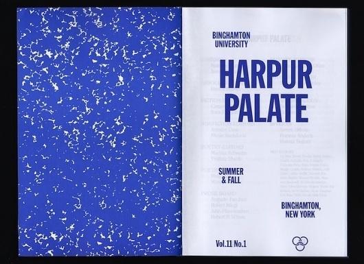 manystuff.org — Graphic Design daily selection » Blog Archive » Harpur Palate #print #palate #harpur