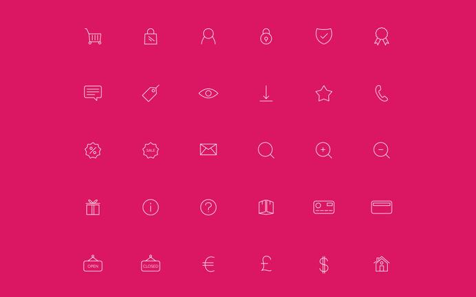 Free Ecommerce Line Icon