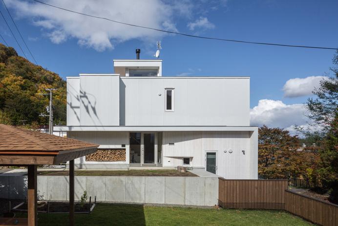 House with Corner Windows