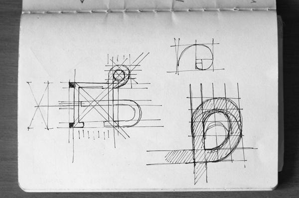 Logo & Business card #logo #sketch