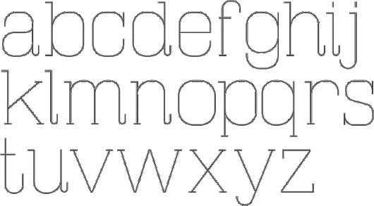 JurajChrastina-MasherbrumSlabThin-2011.gif 687×381 pixels #font #design #graphic #alphabet #type #typography