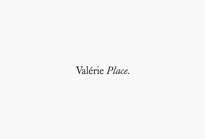 Valérie Place by Dimitris Kostinis #logo #logotype