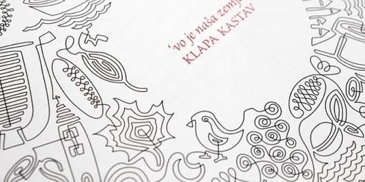 Klapa Kastav, CD Packaging - TheDieline.com - Package Design Blog