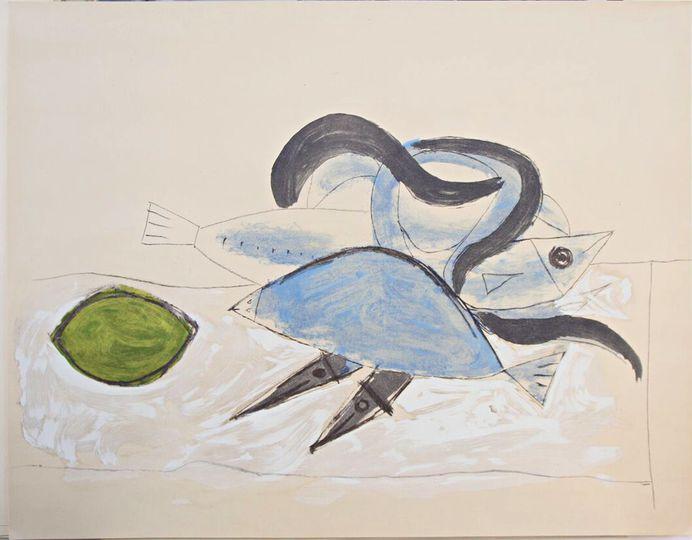 Pablo Picasso; Untitled - Still Life