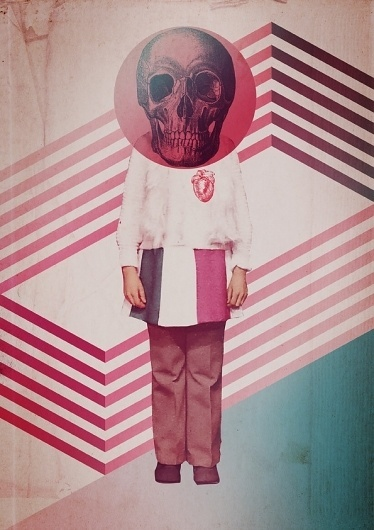 THE SKULL IS NOT CRUEL on the Behance Network #print #design #graphic