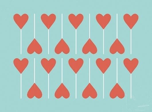 Ana - Ana #heart #illustration #lollipop