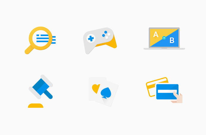 #WeLoveNoise #google #library #website #illustration #icons #pictograms