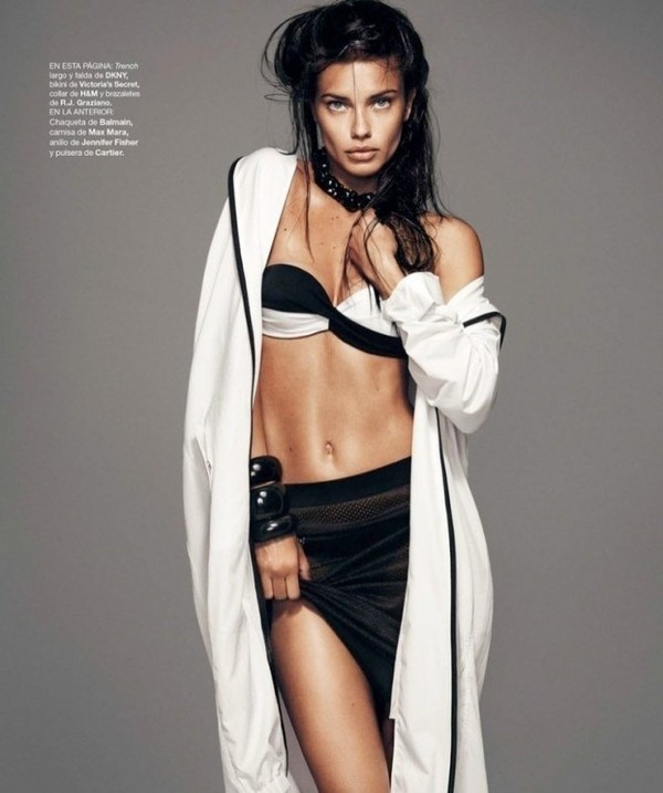 Adriana Lima by Nico #fashion #photography #inspiration