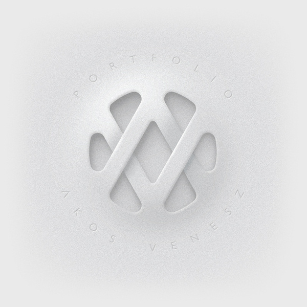 AV logo on the Behance Network #logo #design #graphic #texture