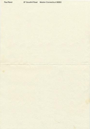 Letterheady #rand #letterhead #stationery #paul