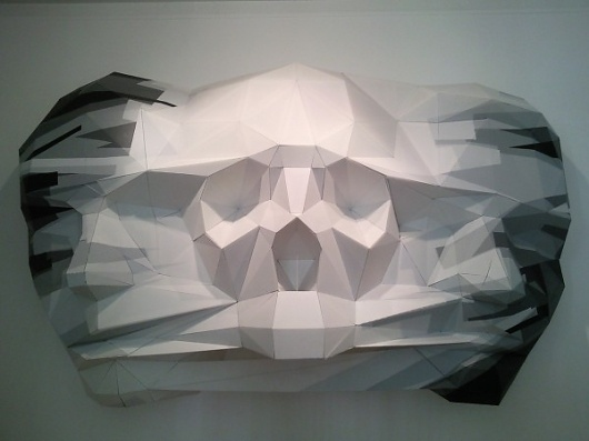The Art of Geometry | Colossal #geometry #look #poly #skull #low