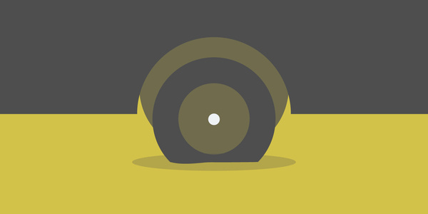 Flat Tire #flat #vector #design #illustration #cars