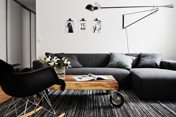 Colorless and boring? Nope, not this time either. emmas designblogg #interior #design #decor #deco #decoration