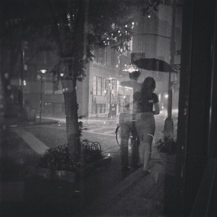 www.kayleighryleydesign.com goes to NYC for a photoshoot #umbrella #design #photography #rain #art #nyc #blackandwhite #love