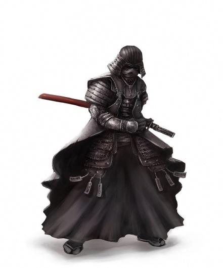 samurai vader by ~cheo36 on deviantART #darth #vader #wars #star