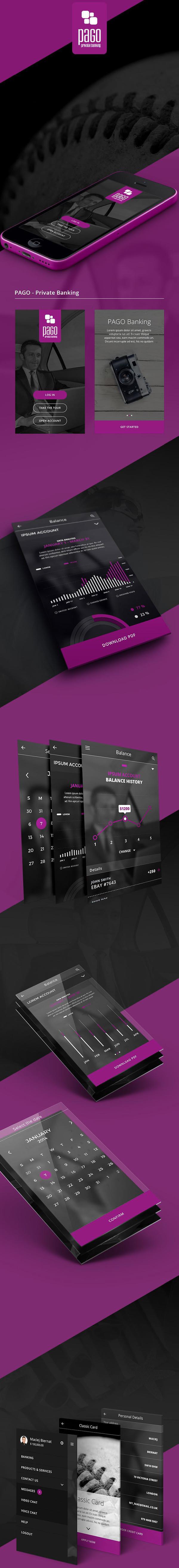 Mobile Banking by Maciej Biernat