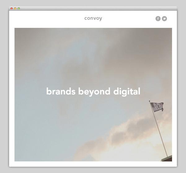 Convoy Interactive #website #layout #design #web