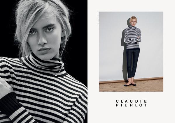 CLAUDIE PIERLOT CAMPAIGN Leslie David #direction #leslie #david #art