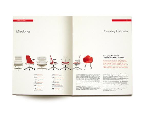 Herman Miller Annual report ljeangilles.com #miller #catalog #spread #herman #editorial #eames