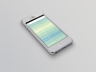 Monday, August 5, 2013 #iphone #app #ui