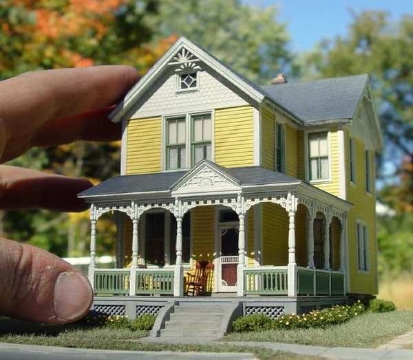 Vintage shots from days gone by! Page 1281 THE H.A.M.B. #miniature #diorama #house