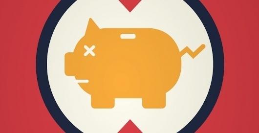 Caliber Creative #save #pig #bank #banking #money
