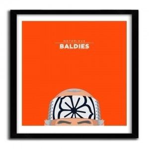 Notorious Baldie MR. MIYAGI by Mr Peruca #print