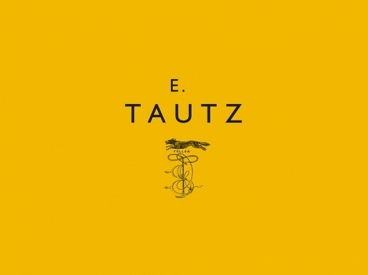E. Tautz | Moving Brands - a global branding company #logo #identity #branding