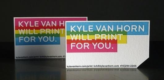 kylevanhorn.com/print #card #business