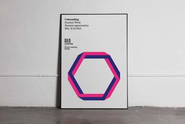 Mucho Gild International #print #geometric #typographic #posters #minimal