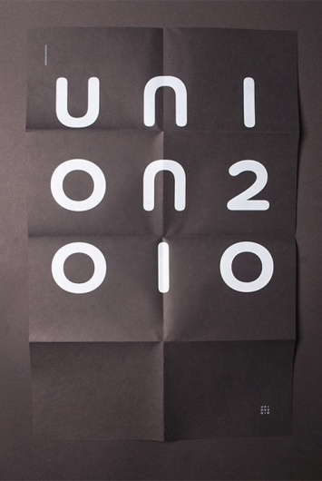 Uni on 2010 Identity | Aleksi Ahjopalo #print #design #graphic #direction #digital #identity #visualization #art