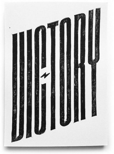 WHITE BLACK GREY #victory #poster
