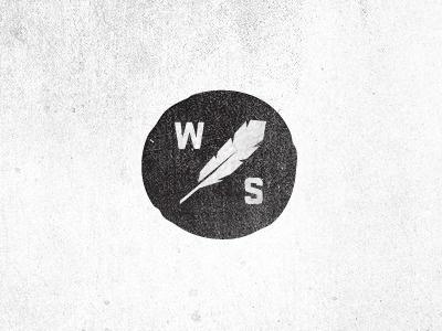 Logo Design: Feathers | Abduzeedo | Graphic Design Inspiration and Photoshop Tutorials #stamp #west #letterpress #feather #black #south