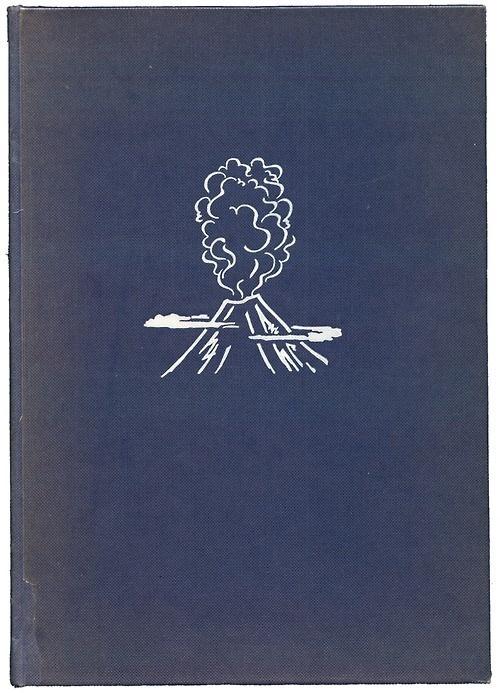 Freaky Fauna's Tumblr Geologie für Jederman by Prof. Dr. Kurd v. Bülow... #cover #clothbound #book #volcano