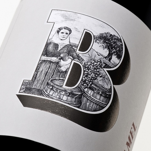 Bucamel. (Illustration by Martin Mörck) on the Behance Network #packaging #design #graphic #illustration #typography