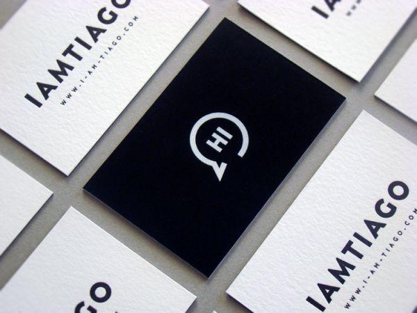 Tiago Business Card   Business Card Design Inspiration