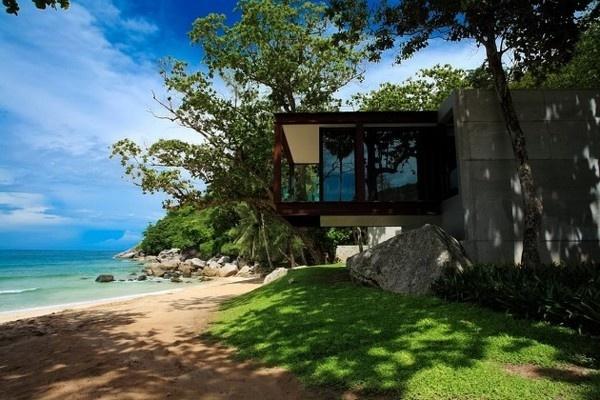 Naka Phuket resort in Thailand #resort #architecture #thailand