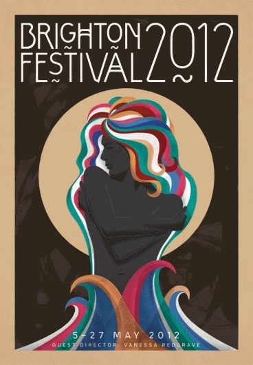 tumblr_m03k1c0piG1qzxopio1_1280.gif 600×864 pixels #chris #festival #brighton #2012 #co #harrison #poster #and