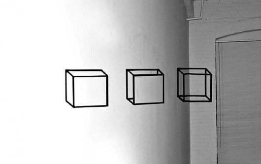 Buamai - 79. Haptic Space - The Draftery #blackwhite #photo #geometry #drawing