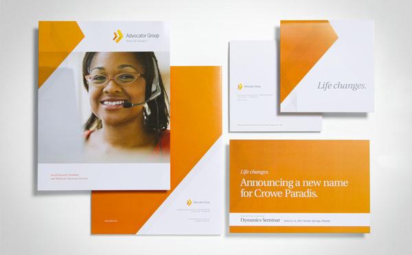 The Advocator Group AG Identity #design #identity #marketing #branding