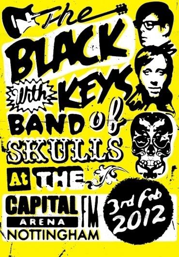 LL Reps News » The Black Keys gig poster by Steve Wilson #poster