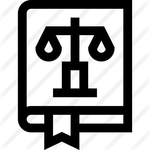 See more icon inspiration related to oath, law book, gavel, law, balance, education, justice and book on Flaticon.