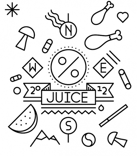 Line Illustration Series on the Behance Network