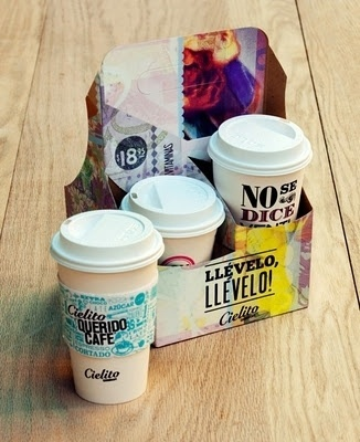 inspire me.... #labels #coffe #cups #sleeve #typography