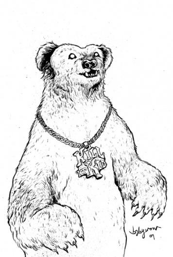 portfolio : babycrow #kid #illustration #babycrow #kill #it #bear